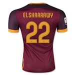 AS Roma 15/16 EL SHAARAWY Authentic Home Soccer Jersey