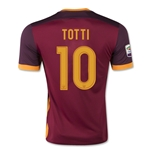 AS Roma 15/16 TOTTI Home Soccer Jersey