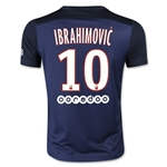 Paris Saint-Germain 15/16 IBRAHIMOVIC Youth Home Soccer Jersey