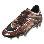 Nike Hypervenom Phelon II FG (Metallic Red Bronze/Green Glow)