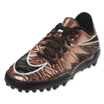 Nike Hypervenom Phelon II TF Junior (Metallic Red Bronze/Green Glow)
