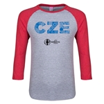 Czech Republic Euro 2016 Junior Elements 3/4 Sleeve T-Shirt (Heather Red)