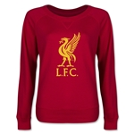 Liverpool Halftone Junior Women's Pullover (Red)