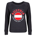 Austria Euro 2016 Junior Fashion Pullover (Dark Grey)