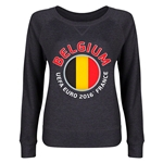 Belgium Euro 2016 Junior Fashion Pullover (Dark Grey)