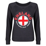 England Euro 2016 Junior Fashion Pullover (Dark Grey)
