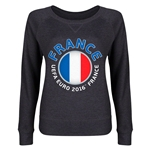 France Euro 2016 Junior Fashion Pullover (Dark Grey)