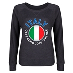 Italy Euro 2016 Junior Fashion Pullover (Dark Grey)