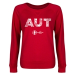 Austria Euro 2016 Junior Elements Pullover (Red)