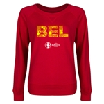 Belgium Euro 2016 Junior Elements Pullover (Red)