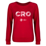 Croatia Euro 2016 Junior Elements Pullover (Red)