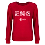 England Euro 2016 Junior Elements Pullover (Red)