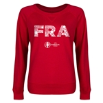 France Euro 2016 Junior Elements Pullover (Red)