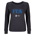 Italy Euro 2016 Junior Elements Pullover (Dark Grey)