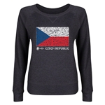 Czech Republic Euro 2016 Junior Fashion Flag Pullover (Dark Grey)