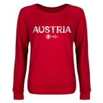 Austria Euro 2016 Junior Core Pullover (Red)