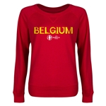 Belgium Euro 2016 Junior Core Pullover (Red)
