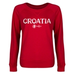 Croatia Euro 2016 Junior Core Pullover (Red)