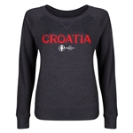 Croatia Euro 2016 Junior Core Pullover (Dark Grey)