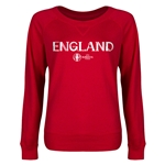 England Euro 2016 Junior Core Pullover (Red)