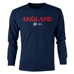 England Euro 2016 Junior Core Pullover (Navy)