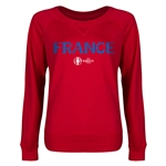 France Euro 2016 Junior Core Pullover (Red)