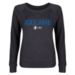Iceland Euro 2016 Junior Core Pullover (Dark Grey)