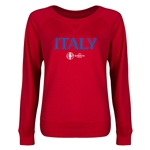 Italy Euro 2016 Junior Core Pullover (Red)