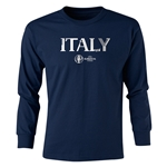 Italy Euro 2016 Junior Core Pullover (Navy)