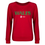Wales Euro 2016 Junior Core Pullover (Red)