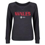 Wales Euro 2016 Junior Core Pullover (Dark Grey)