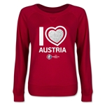 Austria Euro 2016 Junior Heart Pullover (Red)