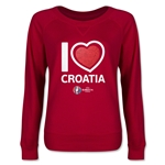 Croatia Euro 2016 Junior Heart Pullover (Red)