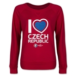 Czech Republic Euro 2016 Junior Heart Pullover (Red)