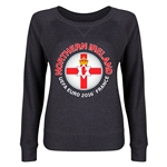 Northern Ireland Euro 2016 Junior Fashion Pullover (Dark Grey)