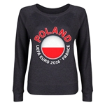 Poland Euro 2016 Junior Fashion Pullover (Dark Grey)