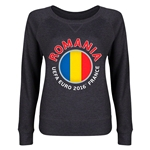 Romania Euro 2016 Junior Fashion Pullover (Dark Grey)