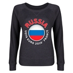 Russia Euro 2016 Junior Fashion Pullover (Dark Grey)