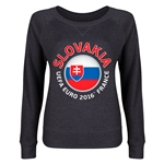 Slovakia Euro 2016 Junior Fashion Pullover (Dark Grey)