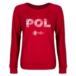 Poland Euro 2016 Junior Elements Pullover (Red)
