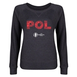 Poland Euro 2016 Junior Elements Pullover (Dark Grey)