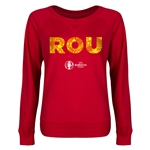 Romania Euro 2016 Junior Elements Pullover (Red)