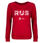 Russia Euro 2016 Junior Elements Pullover (Red)