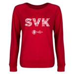Slovakia Euro 2016 Junior Elements Pullover (Red)