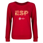 Spain Euro 2016 Junior Elements Pullover (Red)