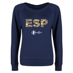Spain Euro 2016 Junior Elements Pullover (Navy)