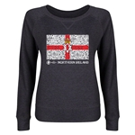 Northern Ireland Euro 2016 Junior Flag Pullover (Dark Grey)