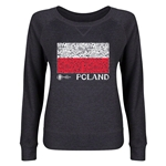 Poland Euro 2016 Junior Flag Pullover (Dark Grey)