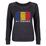 Romania Euro 2016 Junior Flag Pullover (Dark Grey)