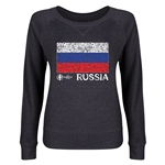 Russia Euro 2016 Junior Flag Pullover (Dark Grey)